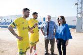 Un total de 15 empresas optan al contrato para la construcción del campo de fútbol 11 de Pozo Estrecho