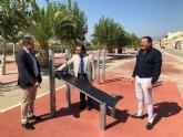 La Comunidad promovió en Ceutí una inversión de 247.000 euros en pavimentación, parques, plazas y carril-bici
