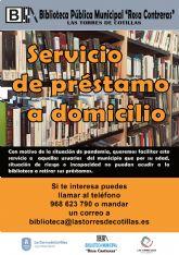 La biblioteca municipal estrena un servicio de envío de ejemplares a domicilio