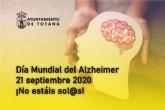 El Ayuntamiento se une a la celebración del Día Mundial del Alzheimer