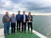 El director general de Puertos visita los puertos de Lo Pagán y de Marina de las Salinas