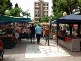 Vuelve de nuevo el 'Mercado Artesano Las Palomas, Villa de Alcantarilla', el próximo domingo, en el Jardín de la Constitución