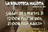 El Ayuntamiento presenta para este Halloween 'La Biblioteca Maldita'