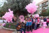 Puerto Lumbreras se une contra el cáncer de mama un año más