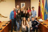 Alhama recibe a un grupo de alumnos de intercambio franceses