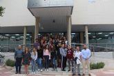 El IES Manuel Tárraga Escribano acoge a un grupo de alumnos alemanes en el marco del programa Erasmus+