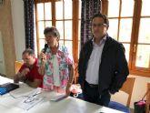 El alcalde de Mazarr�n, Gaspar Miras, se re�ne con los vecinos de Camposol