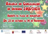 La Escuela de Conciliación de Invierno ofrece 50 plazas para niños y niñas de 3 a 12 años