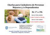 Charlas gratuitas para cuidadores de personas mayores y/o dependientes