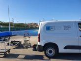 El Instituto de Biomecánica de Valencia certifica la idoneidad de la pista de atletismo de Puerto Lumbreras para la práctica de este deporte