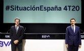 BBVA Research mantiene sus previsiones de PIB para España en el -11,5% en 2020 y rebaja las de 2021 al +6%