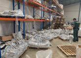 La Guardia Civil inmoviliza cerca de seis toneladas de  pienso  animal por carecer de registro sanitario