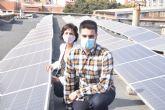 Un estudiante de Minas y Energía diseña una planta solar autosuficiente energéticamente capaz de abastecer a una industria