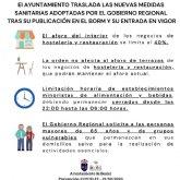 En vigor las nuevas medidas restrictivas adoptadas por las autoridades sanitarias regionales