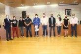 Homenajean al joven piloto totanero David C�novas Hidalgo, bicampe�n de Espa�a de turismo junio en la modalidad de Subida de monta�a