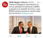 PSOE: 'Pascual Lucas ha pedido una reunión al Delegado del Gobierno para cerrar la fecha de llegada del Altaria'