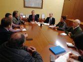 Mario Urrea se reúne con la alcaldesa de Beniel y con Asaja para analizar las consecuencias de la DANA y valorar posibles soluciones