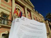 Ahora Murcia registra medio centenar de ruegos y preguntas 'sobre asuntos pendientes en el municipio'