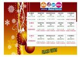 Nuevos horarios de la Biblioteca Municipal y la Sala de Estudio con motivo de las fiestas de Navidad y Reyes