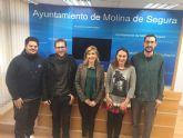 El Ayuntamiento de Molina de Segura subvenciona cuatro proyectos juveniles en 2017
