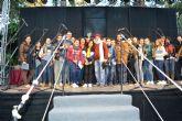 Los escolares aguileños vuelven a dar voz a la Navidad en el tradicional Certamen de Villancicos