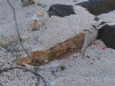 Huermur solicita a Cultura y al Ayuntamiento reparaciones urgentes del geotextil de San Esteban