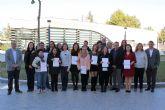 Una quincena de desempleados de Alcantarilla se especializan en el cuidado de personas dependientes en instituciones sociales