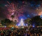 La Coral Discantus ofrece hoy un recital de villancicos de todo el mundo en el Árbol de Navidad