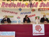 Los vecinos de Torre Pacheco donan más de 15.000 kilos de alimentos y 3.000 euros en el Radio Maratón Solidario a beneficio de Cáritas