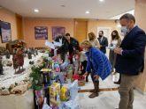 Los diputados del GPP participan en la campaña de recogida de juguetes del Ayuntamiento de Cartagena