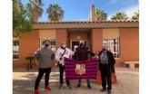 La Peña Barcelonista de Totana visita en Centro de Personas con Discapacidad Intelectual José Moya Trilla