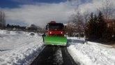 Abiertas todas las carreteras regionales afectadas por el temporal de fr�o y nieve