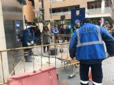 La Brigada de Intervención Rápida creada por el Ayuntamiento ha realizado desde su puesta en marcha en junio más de 210 reparaciones en todo el municipio