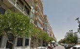 Corte de tráfico este sábado en varias calles del casco por el desmontaje de un andamio en la calle Muralla del Mar