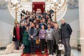 Alumnos y profesores de institutos de cinco países europeos visitan el Palacio Consistorial