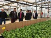 El alcalde José Miguel Luengo destaca el peso de los cultivos ecológicos en el municipio