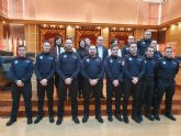 9 nuevos subinspectores se incorporan a la plantilla de la Policía Local de Molina de Segura