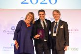 Ferran Centelles recibe el Outstanding Alumni Award de la escuela Wine & Spirits Education Trust