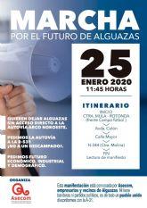 ASECOM se moviliza para que el trazado del 'Arco del Noroeste' modifique su salida a Alguazas