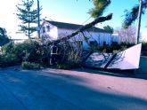 El Ayuntamiento de Lorca procede al cierre temporal de los parques y jardines municipales así como de Las Alamedas debido a la previsión de fuertes rachas de viento