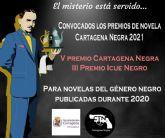 Convocados los premios de novela de Cartagena Negra 2021