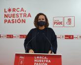 El PSOE de Lorca lleva al Pleno la solicitud al Gobierno Regional de un fondo para los ayuntamientos que vaya destinado a compensar el desfase en el presupuesto debido a la emergencia sanitaria