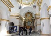 En marcha las obras de mejora en la Iglesia Parroquial Nuestra Señora del Rosario de Puerto Lumbreras