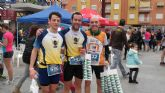 Participación del Club Atletismo Totana en la III carrera base aérea de Alcantarilla