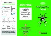 Campaña informativa sobre el mosquito tigre en Alhama