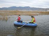 Muestreos en las aguas de las lagunas de las salinas