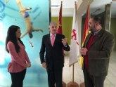 El director general de Deportes visita las infraestructuras deportivas de Totana