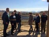 La Comunidad dota al paisaje protegido Humedal del Ajauque y Rambla Salada de un mirador para fomentar la educación ambiental
