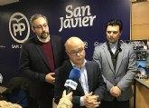 El gobierno regional del PP invertirá en San Javier 16 mill €. durante el año 2018