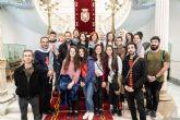 Un grupo de jóvenes palestinos visitan Cartagena